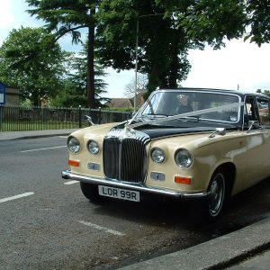 Ivory Baroness III Wedding Hire Car Lord Cars