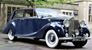 Blue Baron Wedding Hire Car Vintage Car Hire Lord Cars