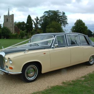 Ivory Baroness II Wedding Hire Car Lord Cars