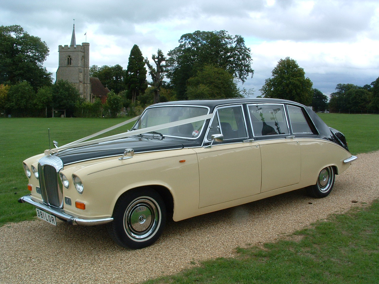 Ivory Baroness II Wedding Hire Car Lord Cars