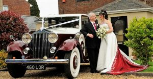 Ruby Baron Wedding Car Hire Classic Hire Car Lord Cars