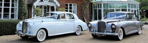 Wedding Hire Car Classic Hire Car Silver Lady Lord Cars