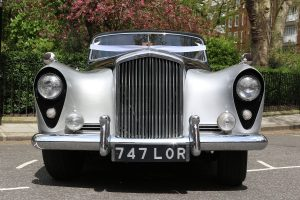 Silver Lady Vintage Car Hire Lord Cars