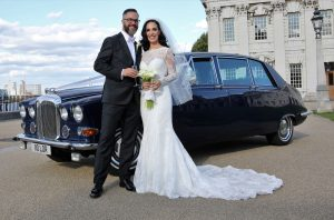 Blue Baroness Vintage Car Hire Lord Cars