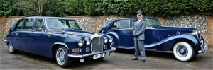 Blue Baroness Classic Car Hire Lord Cars