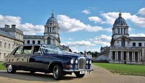 Blue Baroness Wedding Car Hire Lord Cars