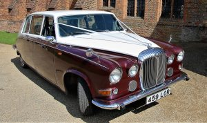Ruby Baroness Vintage & Classic Wedding Car Hire Lord Cars