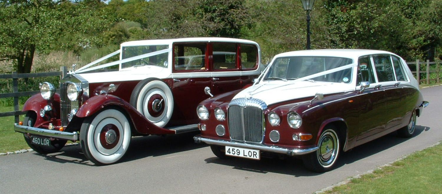 Ruby Baroness Classic Wedding Car Hire Lord Cars