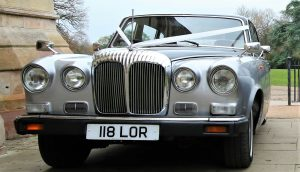 Silver Baroness Wedding Car Hire Classic Car Hire Lord Cars