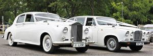 White Baroness Vintage Car Hire Lord Cars