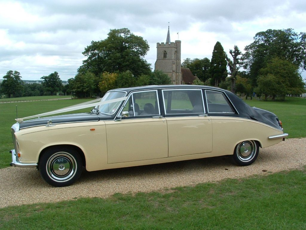 Ivory Baroness V Wedding Hire Car Lord Cars