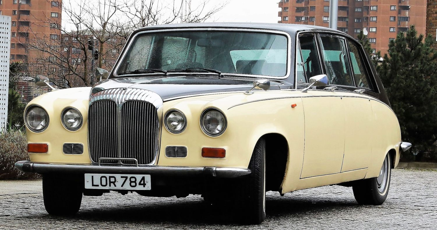 Ivory Baroness IV Wedding Hire Car Lord Cars